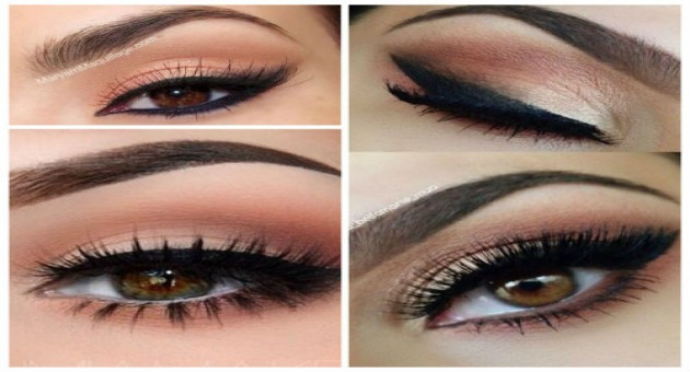 Maquiagem para Olhos Castanhos Esverdeados