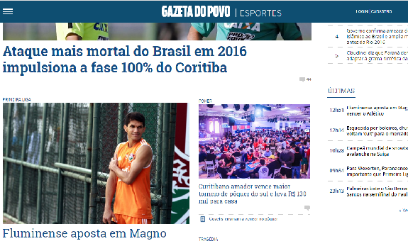 Gazeta do Povo Classificados
