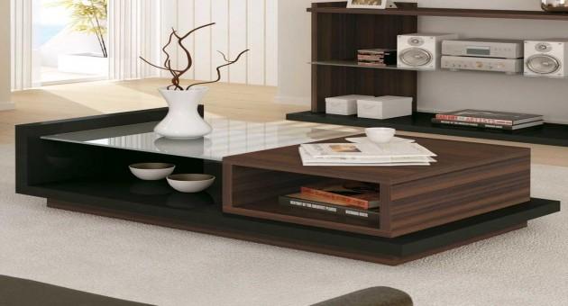 mesas de centro modernas modelos fotos