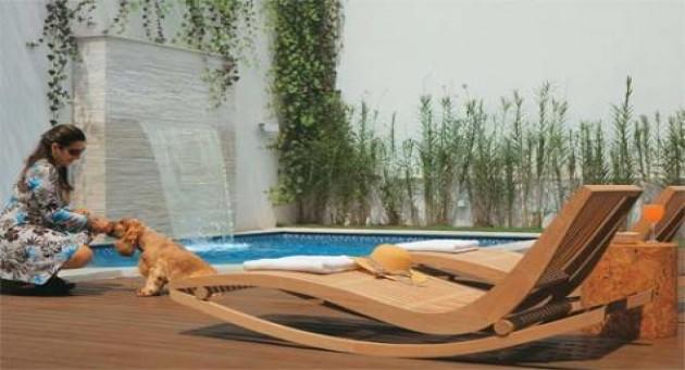 M veis para reas externas piscinas e jardins for Piscinas e jardins