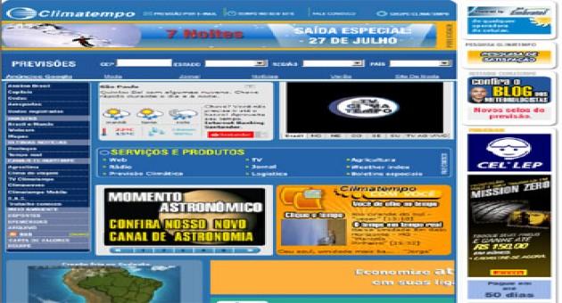 Clima Tempo Online