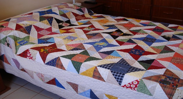 Colcha casal patchwork passo a passo