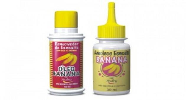 Óleo de banana para Amolecer Esmaltes, Preços, Onde Comprar