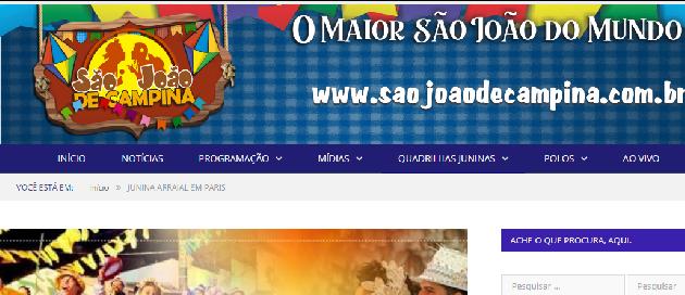 São João em Campina Grande 2011