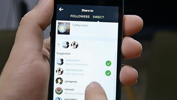 como usar o direct do instagram