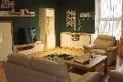 Decoração colorida para salas pequenas