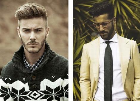Dicas de modeladores para penteados com brilho masculino