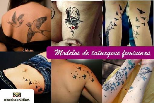Tatuagens Femininas: 196 modelos maravilhosos para inspirar
