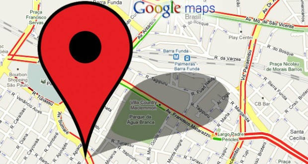 Google maps ao vivo