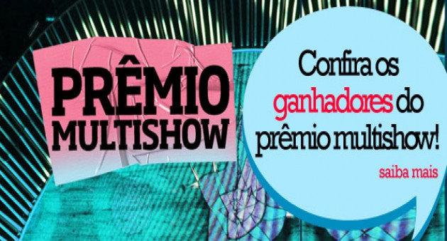 Prêmio Multishow – Ganhadores