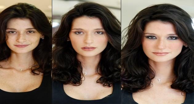 Maquiagem para mulheres com cabelo castanho