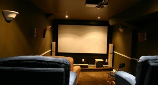 350532 como gastar pouco para montar uma sala de cinema em - Sala cinema in casa ...