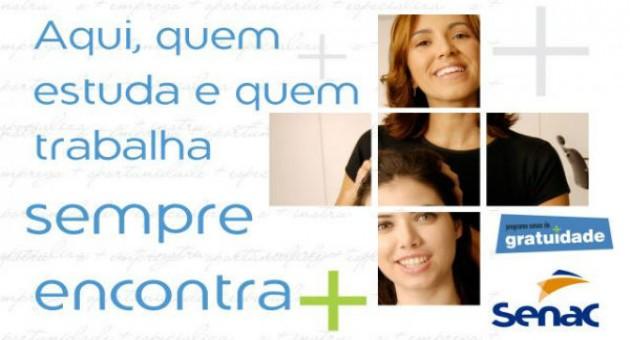 www.senacdf.com.br/psg, Cursos Gratuitos SENAC DF