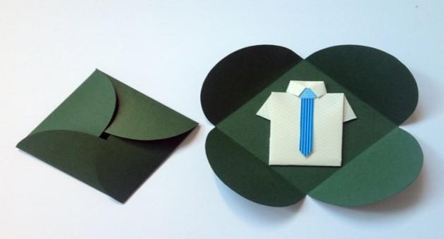 Origami para o dia dos pais
