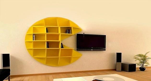Resultado de imagem para estantes criativas de livros