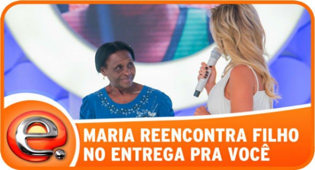 Participar do Quadro Reencontro no Programa da Eliana