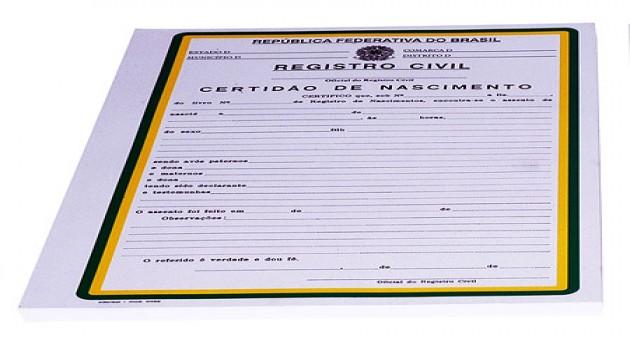 Certidão de Nascimento: 2 Via Pela Internet