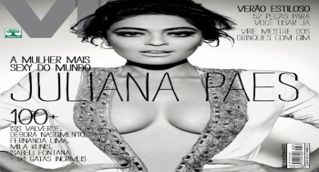 Revista VIP elege Juliana Paes como a mais sexy do mundo