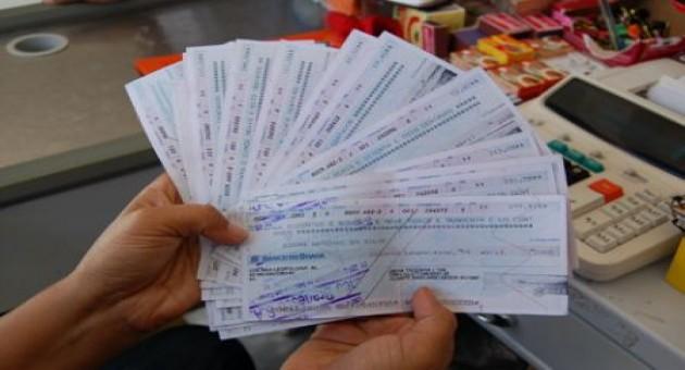 Motivos para a recusa do cheque