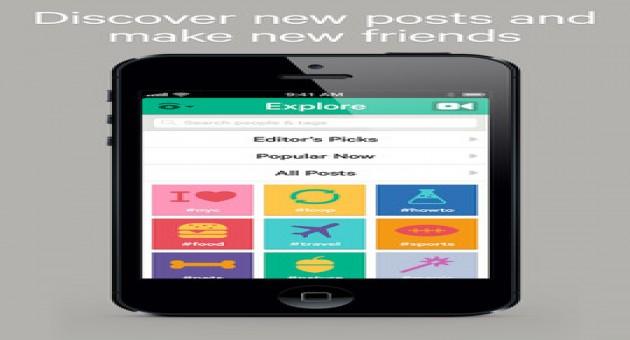 Vine: app que grava vídeos de curta-duração