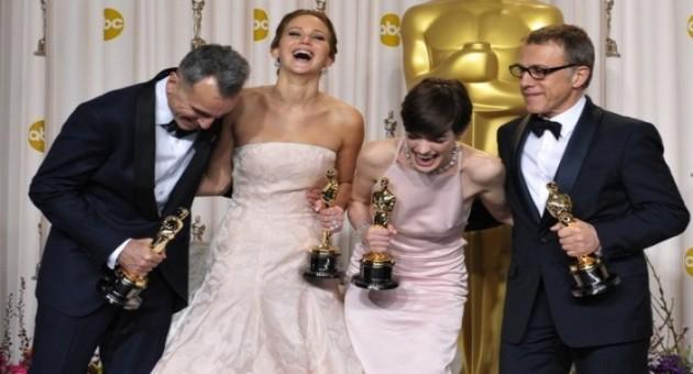 Lista de vencedores Oscar 2013