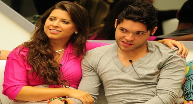 Fernanda, Nasser e Andressa na final do BBB 13