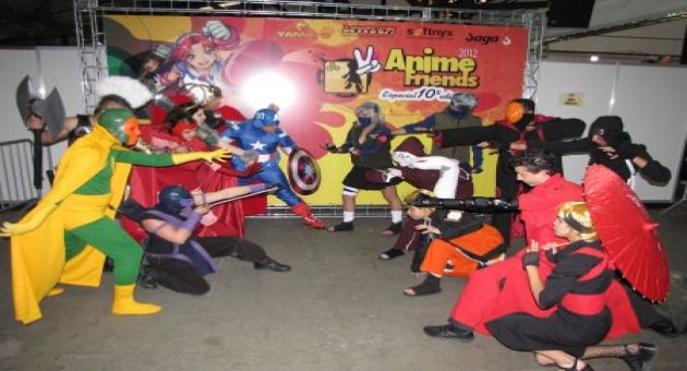 Concurso de Cosplay e roteirista é destaque no Anime Friends