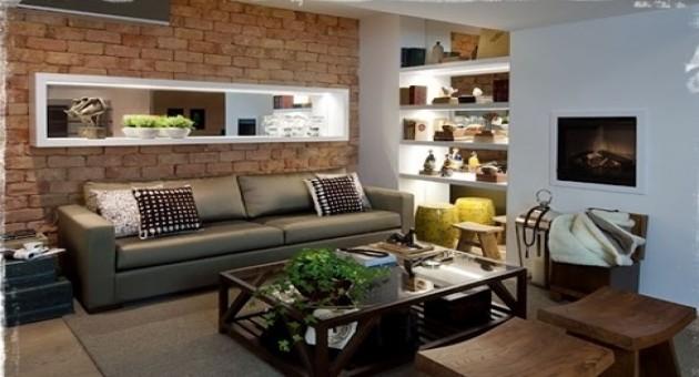 689631 decora es r sticas para sala de estar 13 for Sala de estar estilo rustico