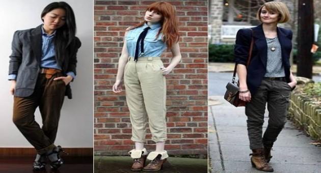 Look boyish: visuais femininos com peças masculinas