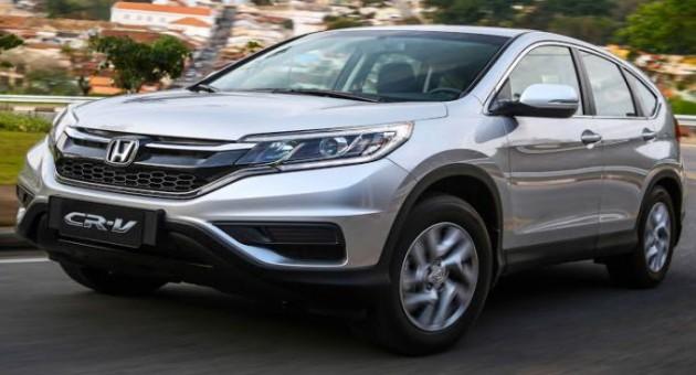 Novo Honda CR-V LX 4×2, preços e fotos