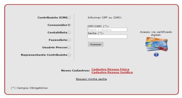 2ª via da Nota Fiscal Paulista