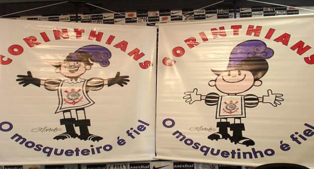 Novo Mascote Corinthians – Mosqueteiro e Mosquetinho